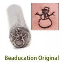 Snowman Design Stamp- Beaducation Original