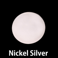 "Nickel Silver 7/8"" (22mm) Circle, 24g"