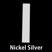 "Nickel Silver 1.20"" Rectangle, 20g"