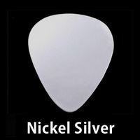 "Nickel Silver ""Guitar Pick"" Blank, 24g"