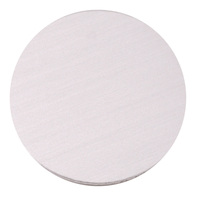 "Anodized Aluminum 1"" Circle, Silver, 24g"