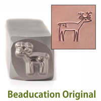 Deer Design Stamp- Beaducation Original