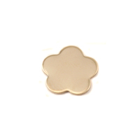 Brass Tiny Flower with 5 Petals, 24g