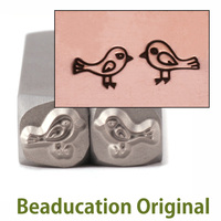 Love Birds 5mm Design Stamp- Beaducation Original