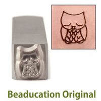 Sleepy Owl Design Stamp- Beaducation Original