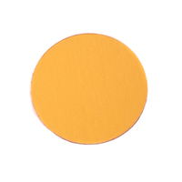 "Anodized Aluminum 3/4"" Circle, Gold, 24g"