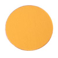 "Anodized Aluminum 1"" Circle, Gold, 24g"