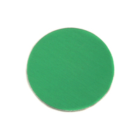 "Anodized Aluminum 3/4"" Circle, Kelly Green, 24g"