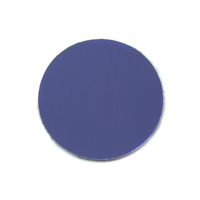 "Anodized Aluminum 3/4"" Circle, Royal Blue, 24g"