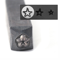 "Star Design Stamp - 1/8"" (3.2mm)"