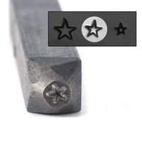 "Star Design Stamp - 3/32"" (2.4mm)"