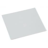 "Anodized Aluminum Sheet, 3"" X 3"", 24g, Silver"