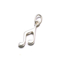 Sterling Silver Music Notes Charms