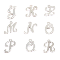Sterling Silver Script Letter Charm L, 24g