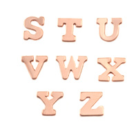 Copper Letters S