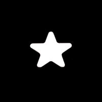 Sterling Silver Small Rounded Point Star, 24g