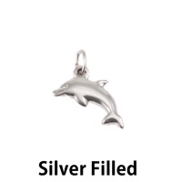 Silver Filled Dolphin Charm