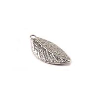 Sterling Silver Leaf Charm