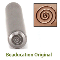 Large Spiral Design Stamp- Beaducation Original