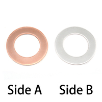 "Single Clad 1"" Washer, 5/8"" ID, 18g"