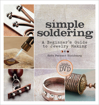 Simple Soldering Book & DVD by Kate Ferrant Richbourg