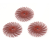 "3M Radial Disc 3/4"" 220 grit (Red) - 3 Pack"