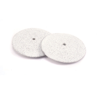 "Silicone Polishing Wheel, Knife Edge - White 7/8"" Coarse, 2pk"