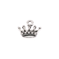 Plated Silver Charm: King's Crown