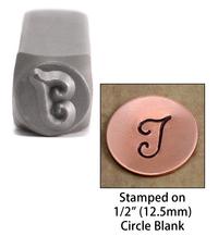 """Monogram Letter """"I"""" 6mm"""