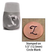"""Monogram Letter """"L"""" 6mm"""