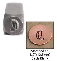 """Monogram Letter """"Q"""" 6mm"""