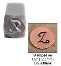 """Monogram Letter """"Z"""" 6mm"""
