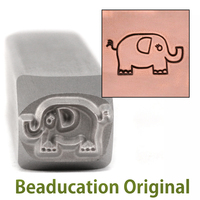 Elephant Design Stamp- Beaducation Original