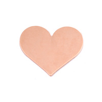 Copper Medium Classic Heart, 24g