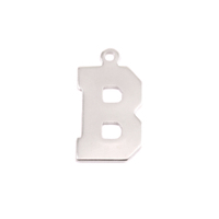 Sterling Silver Letter B, 20g