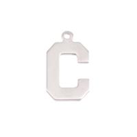 Sterling Silver Letter C, 20g