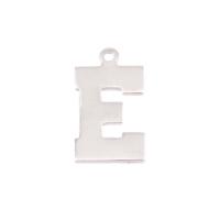Sterling Silver Letter E, 20g
