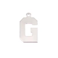Sterling Silver Letter G, 20g
