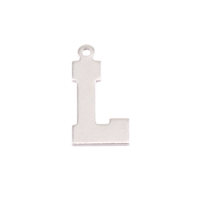 Sterling Silver Letter L, 20g
