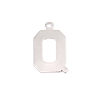 Sterling Silver Letter Q, 20g
