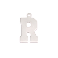 Sterling Silver Letter R, 20g