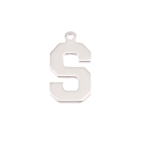 Sterling Silver Letter S, 20g