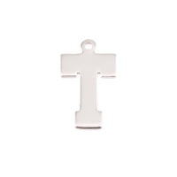 Sterling Silver Letter T, 20g