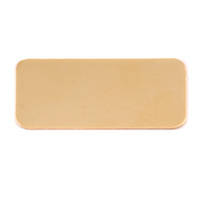 Brass Rectangle Component, 24g