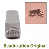 Motorcycle Design Stamp- Beaducation Original
