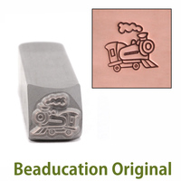 Train Design Stamp- Beaducation Original