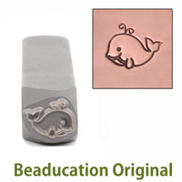 Whale Design Stamp- Beaducation Original