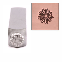 Lil Echinacea Design Stamp 6mm