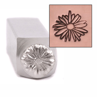 Echinacea Design Stamp 9.5mm