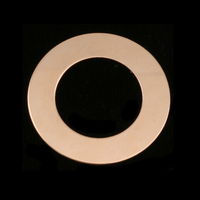 """Gold Filled 1"""" Washer, 5/8"""" ID, 24g"""